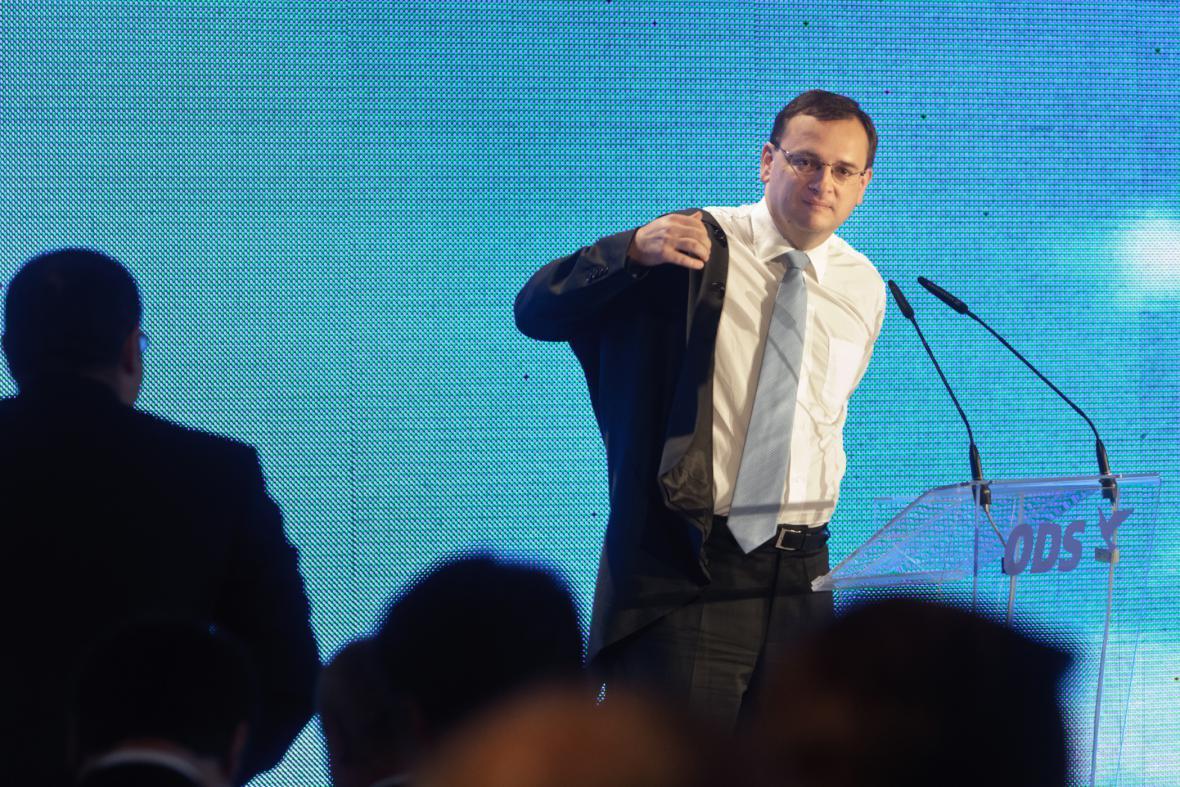 Petr Nečas, 2010