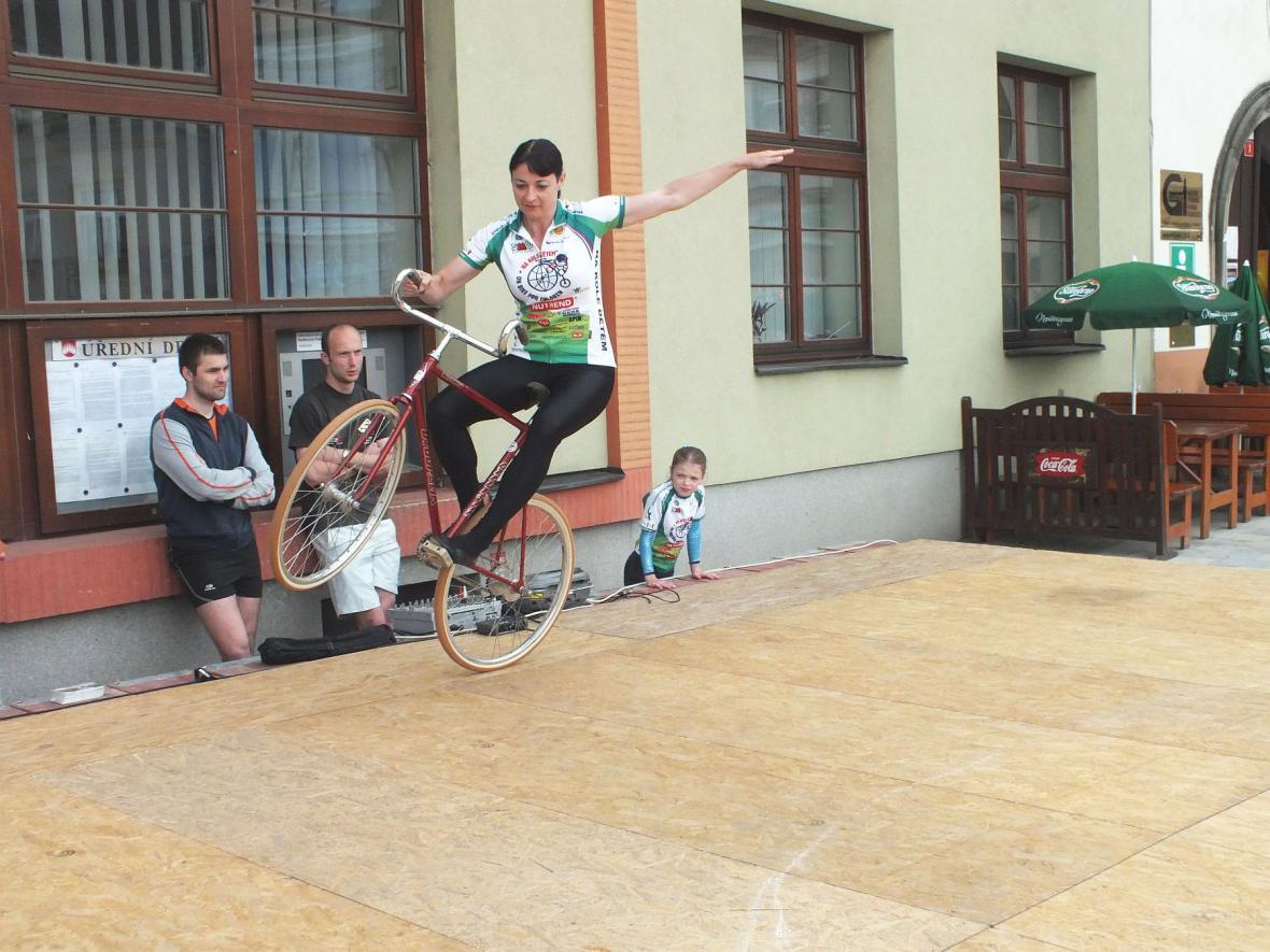 Na kole dětem - Boskovice