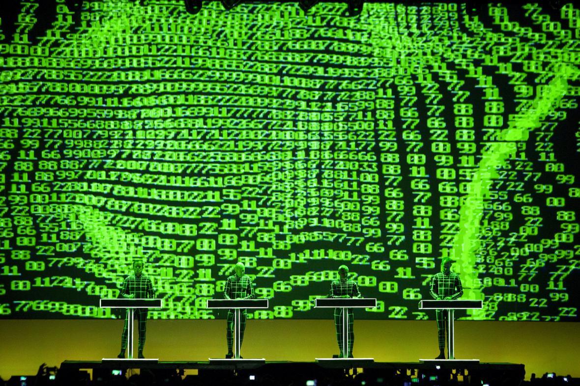 Kraftwerk na festivalu Sónar 2013
