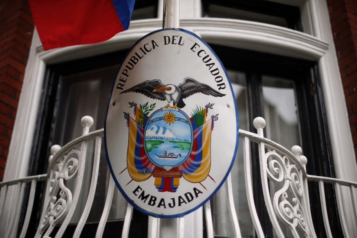 Ekvádorská ambasáda v Londýně