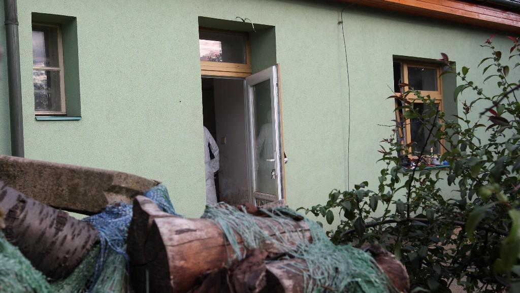 Dům, kde byl nalezen soudce Studnička