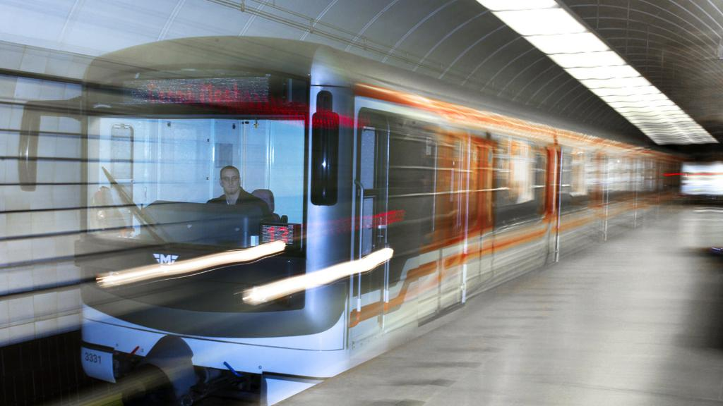 Metro ve stanici