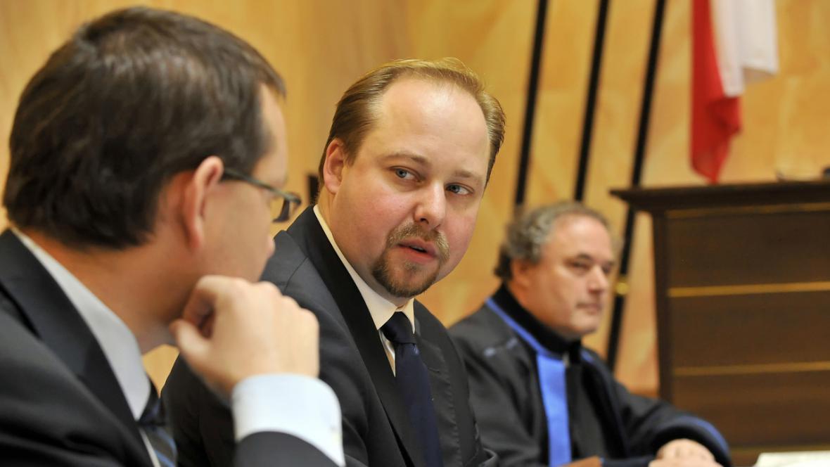 Jeroným Tejc (ČSSD) u Ústavního soudu