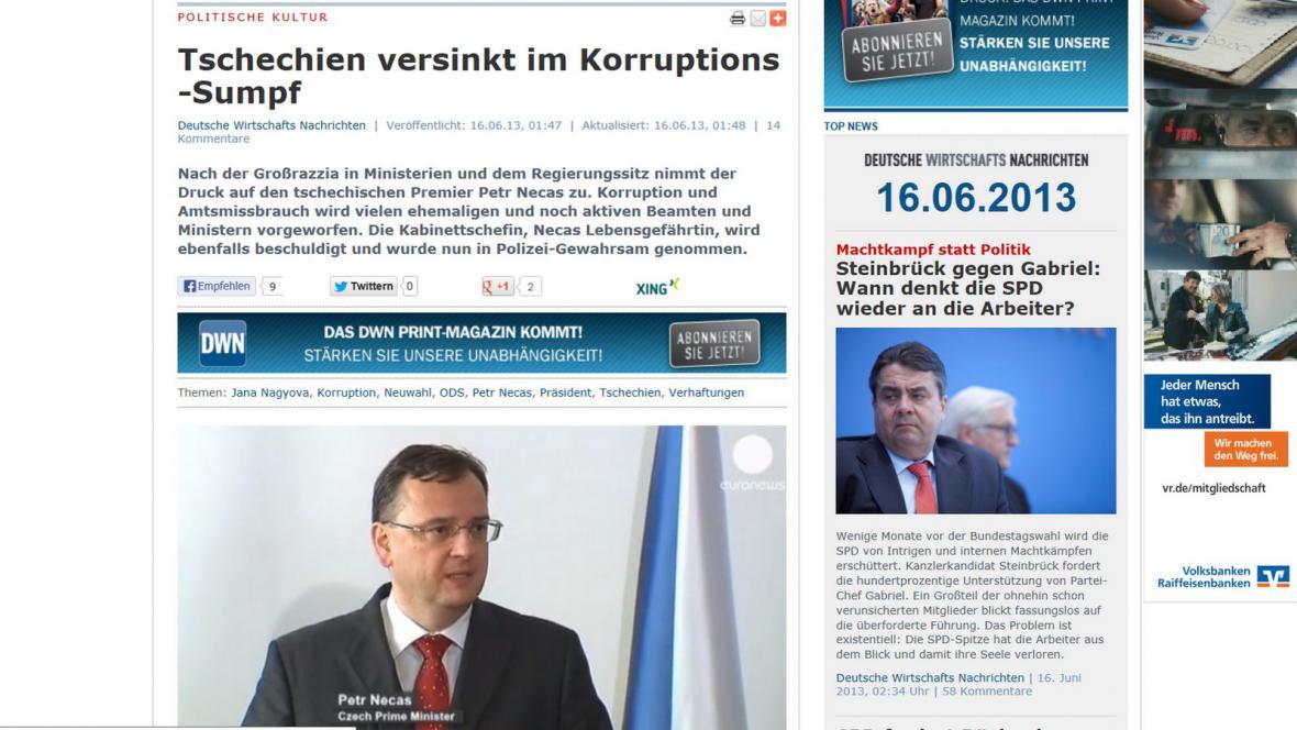 Deutsche Wirtschatfs Nachrichten
