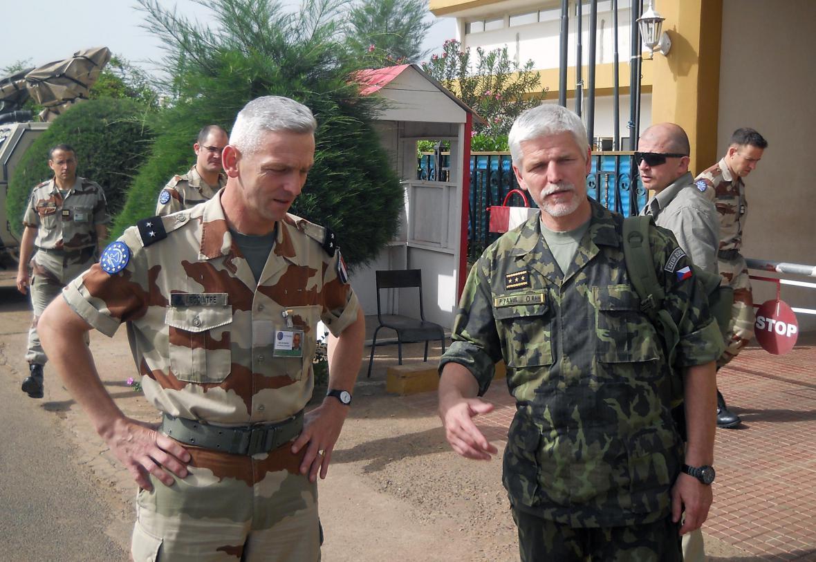 François Lecointre a Petr Pavel