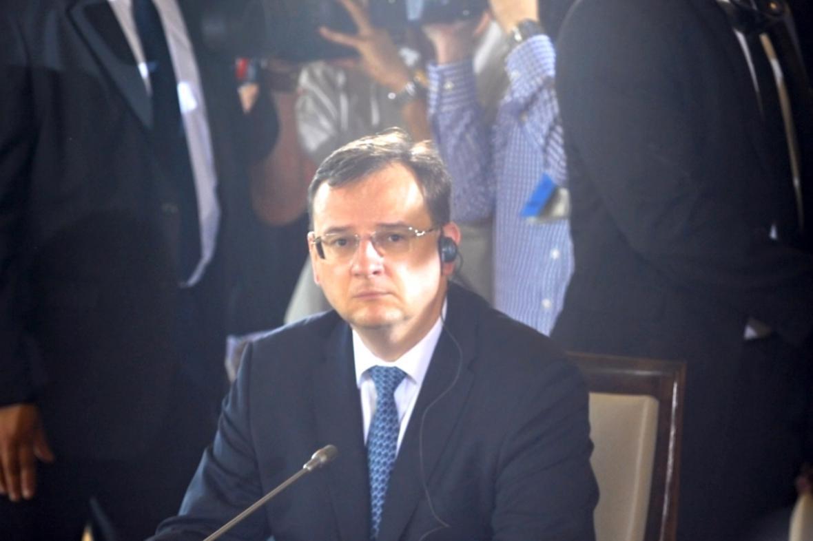 Premiér Petr Nečas (ODS)