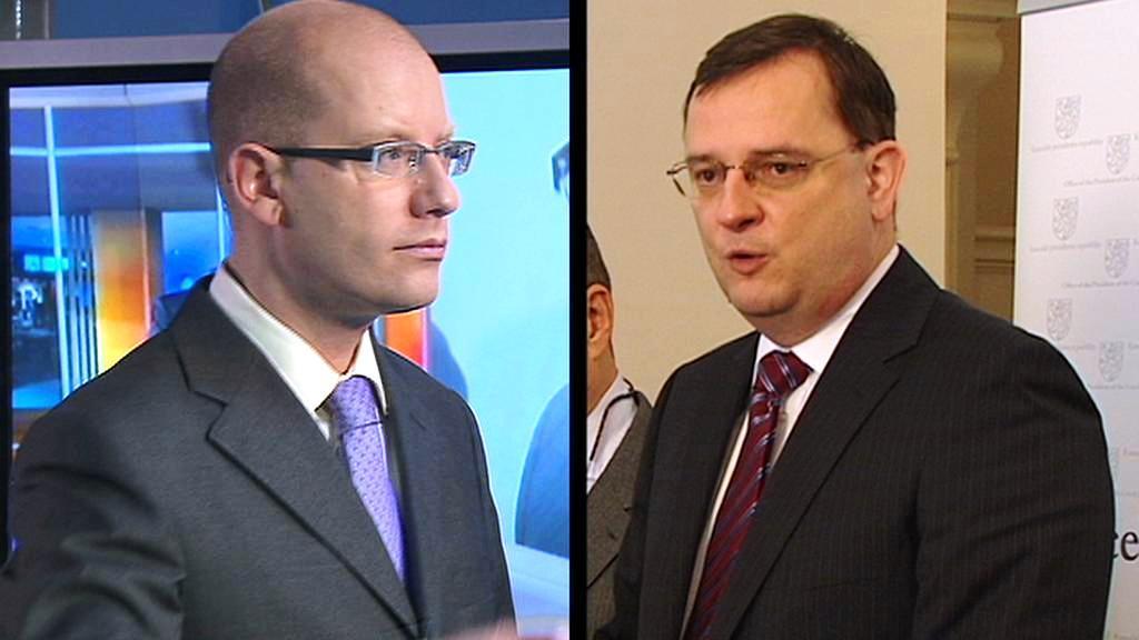 Bohuslav Sobotka vs. Petr Nečas