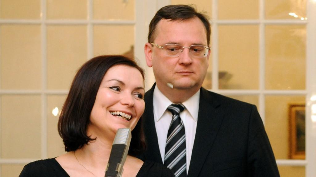 Radka a Petr Nečasovi