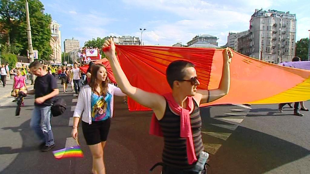 Pochod gayů ve Varšavě