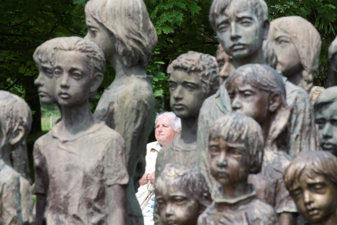 Sousoší lidických dětí
