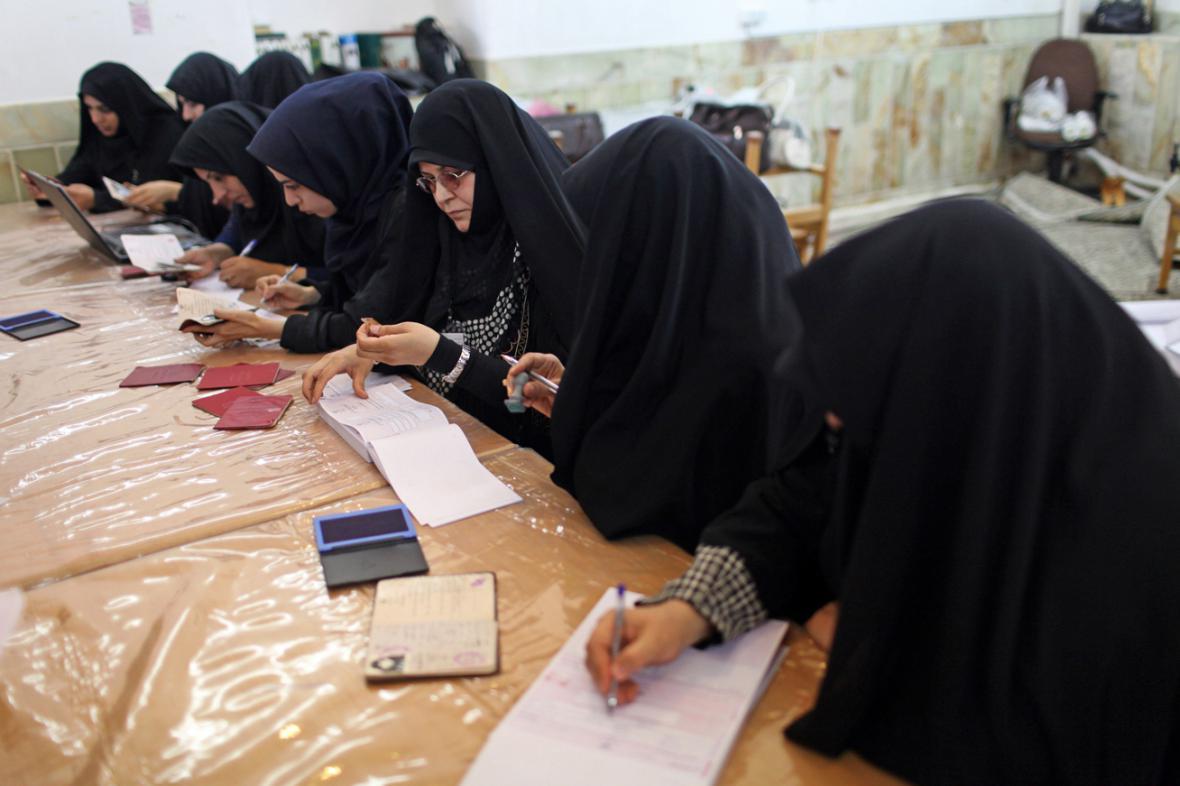 Prezidentské volby v Íránu