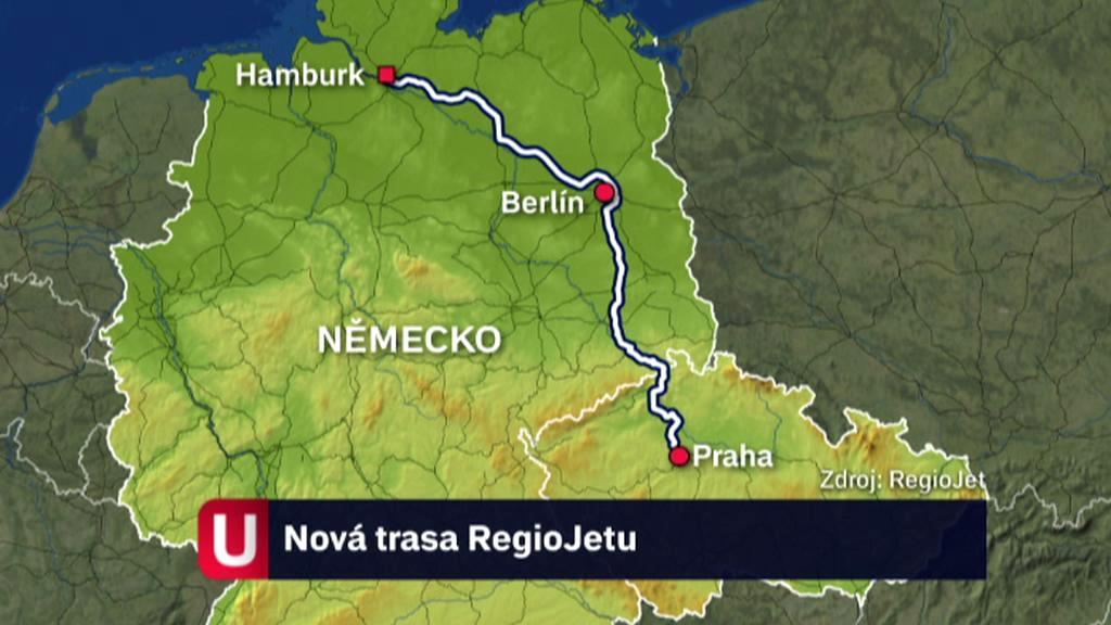 RegioJet v Německu