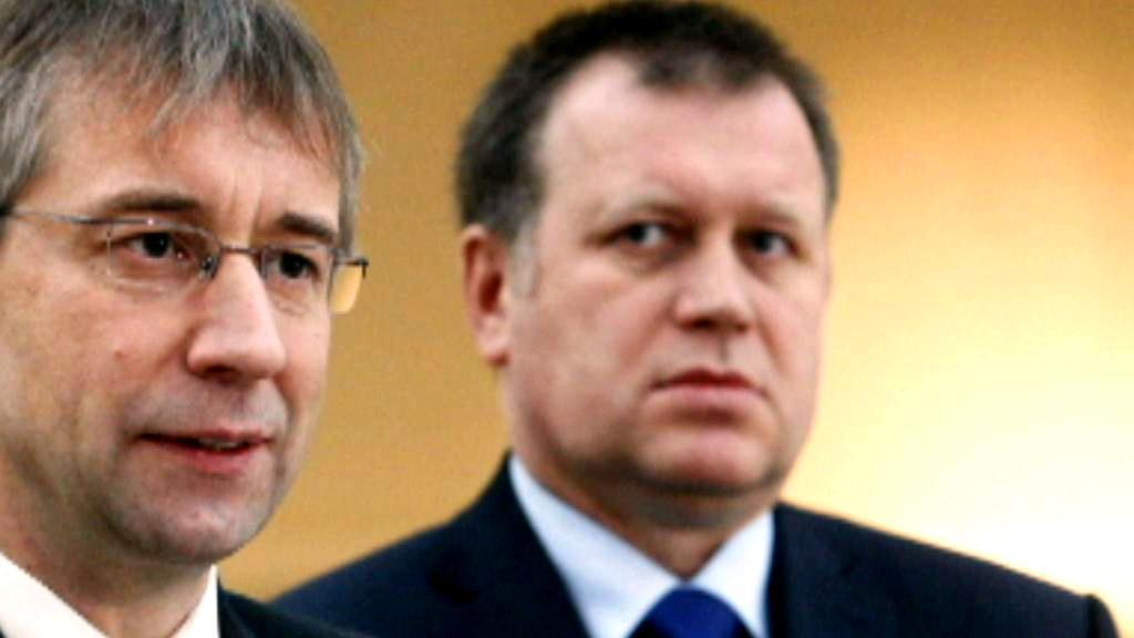 Jaromír Drábek a Vladimír Šiška