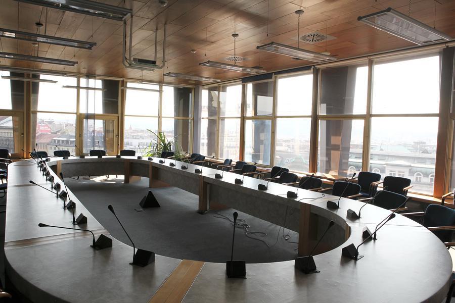 Jednací sál - budova bývalého Federálního shromáždění
