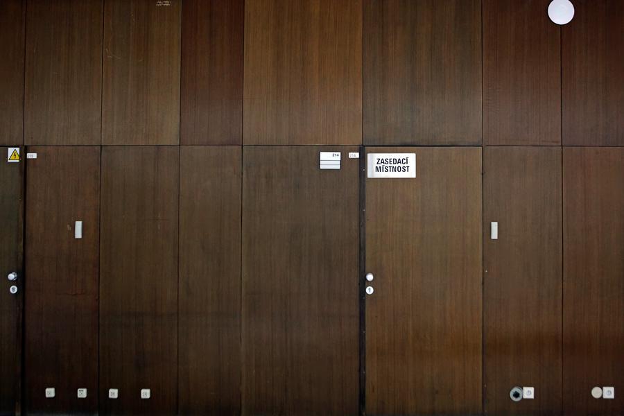 Interiér bývalého Federálního shromáždění