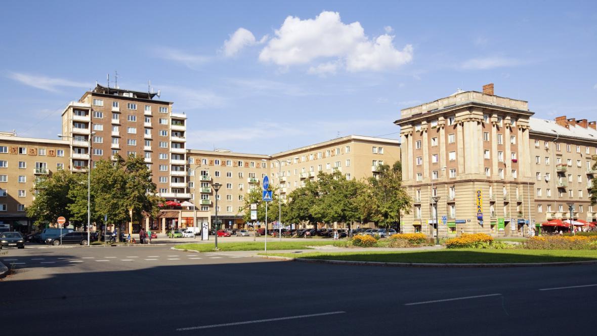 Socialistická architektura v Ostravě Porubě