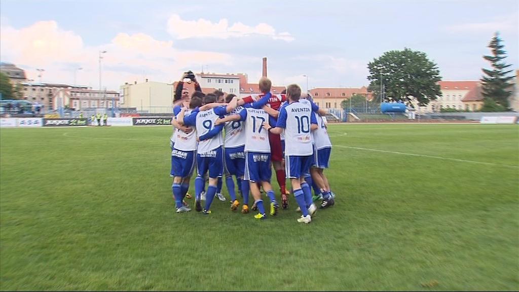 Radost fotbalistů Znojma