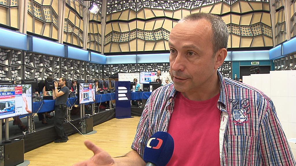 Moderátor a šefredaktor Jan Pokorný