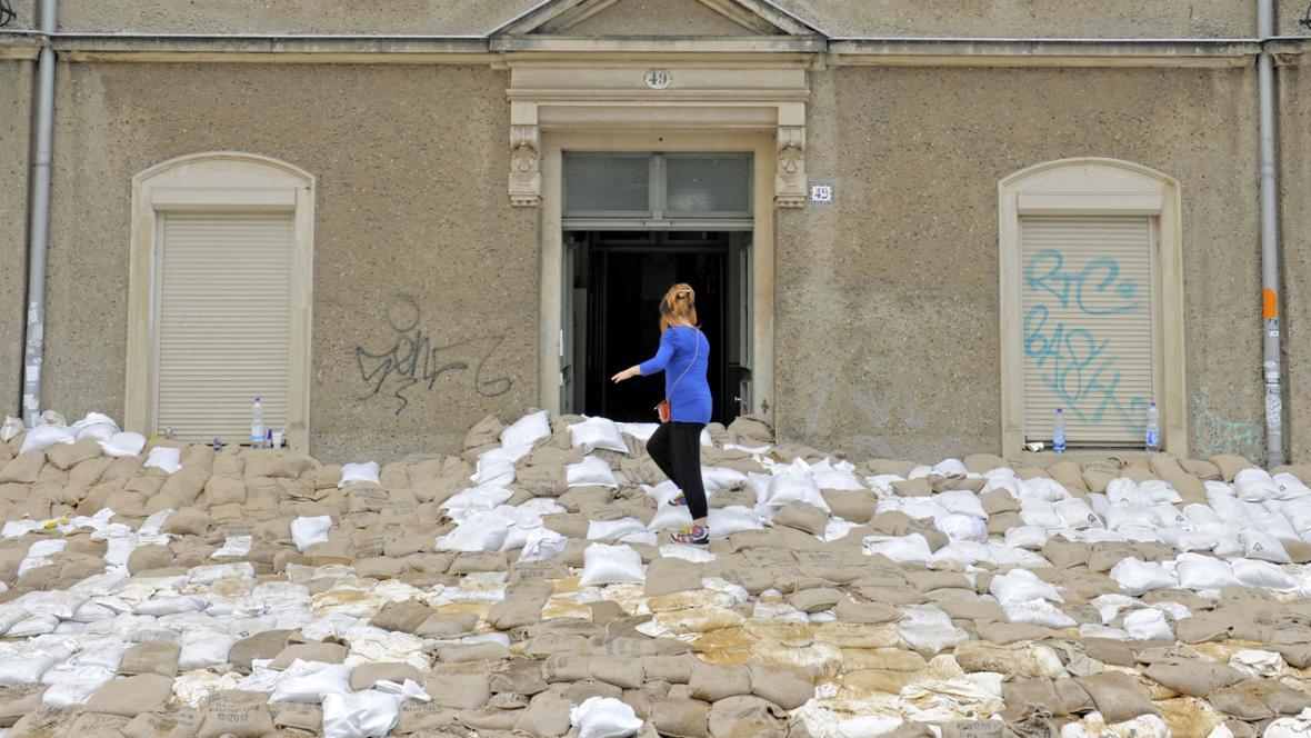 Záplavy v Drážďanech