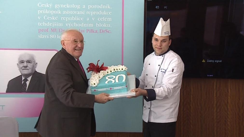 Profesor Ladislav Pilka oslavil 80. narozeniny
