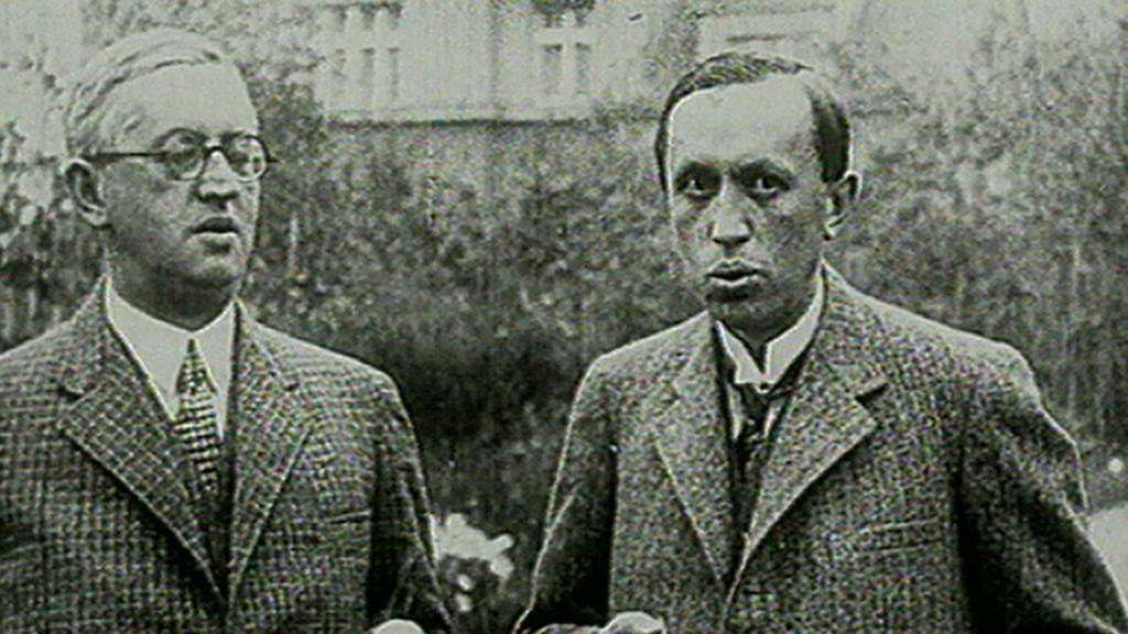Bratři Čapkové - Josef (zleva) a Karel