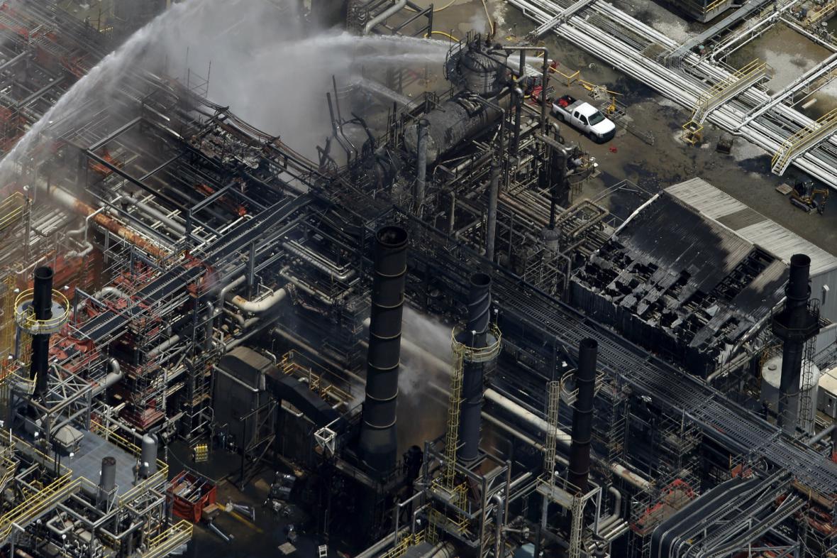 Výbuch v chemičce v Geismaru