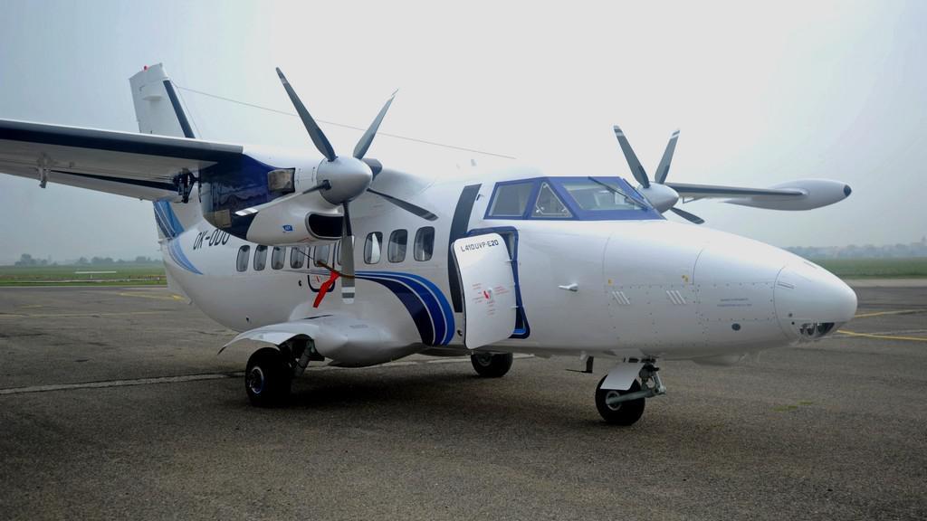 Letoun L-410 v Kunovicích