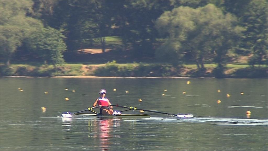 Olympijská vítězka na čas vyměnila trénink na Vltavě za Brněnskou přehradu