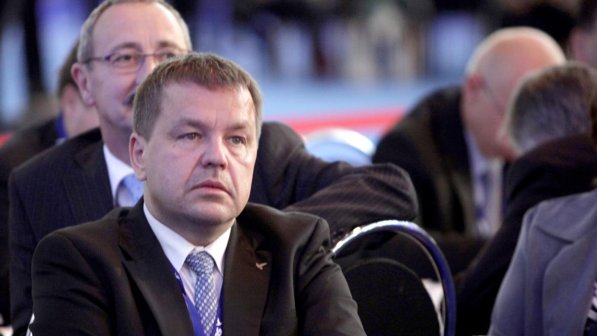 Petr Tluchoř na kongresu ODS