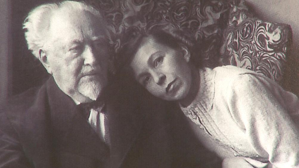 Max Švabinský s manželkou Elou