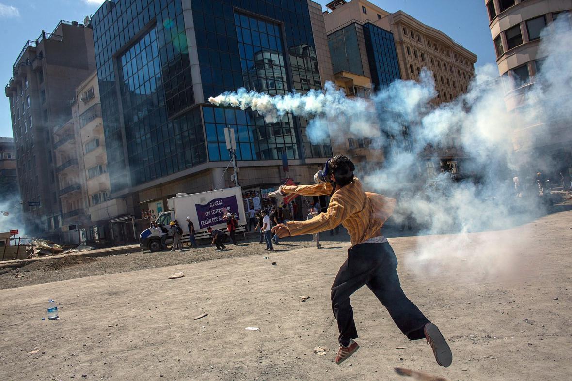 Protivládní protesty v Turecku