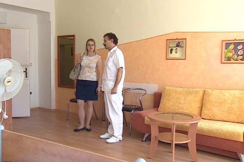 Apartmán pro rodiny ve vyškovské nemocnici