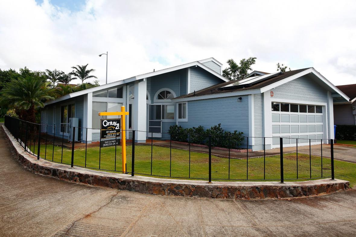 Dům ve Waipahu na Havaji, kde Snowden žil se svou přítelkyní