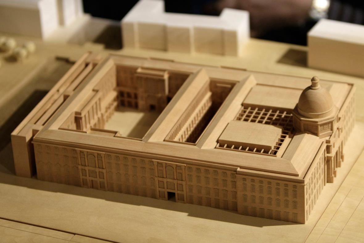Model berlínského císařského zámku