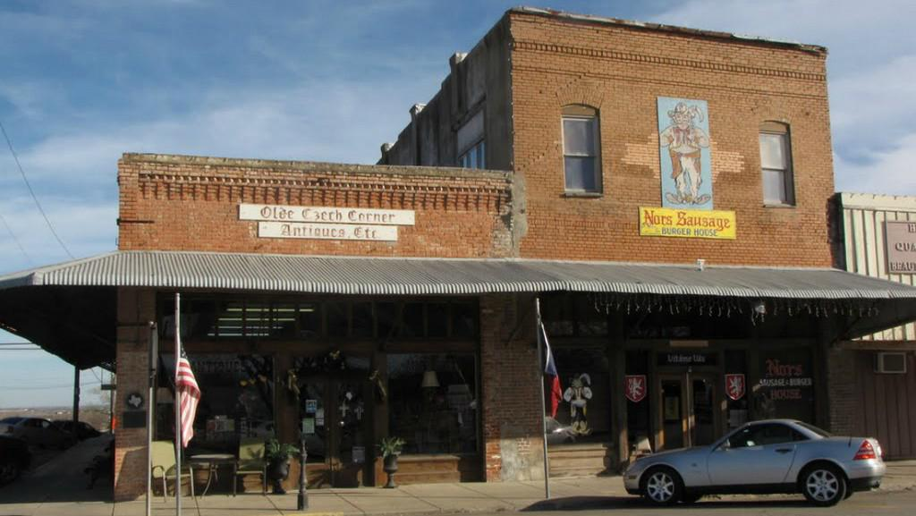 Texaské městečko West