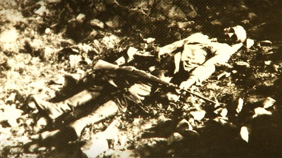 Zastřelený Ilko Lepej