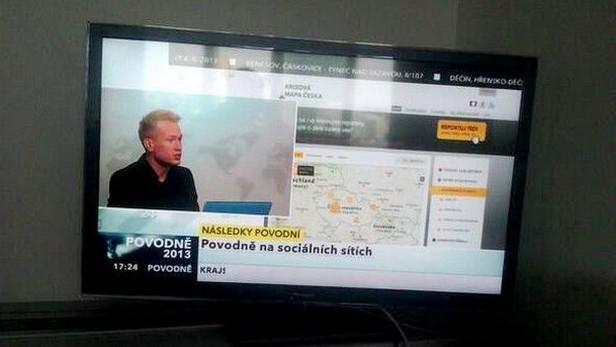 Krizová mapa ve vysílání