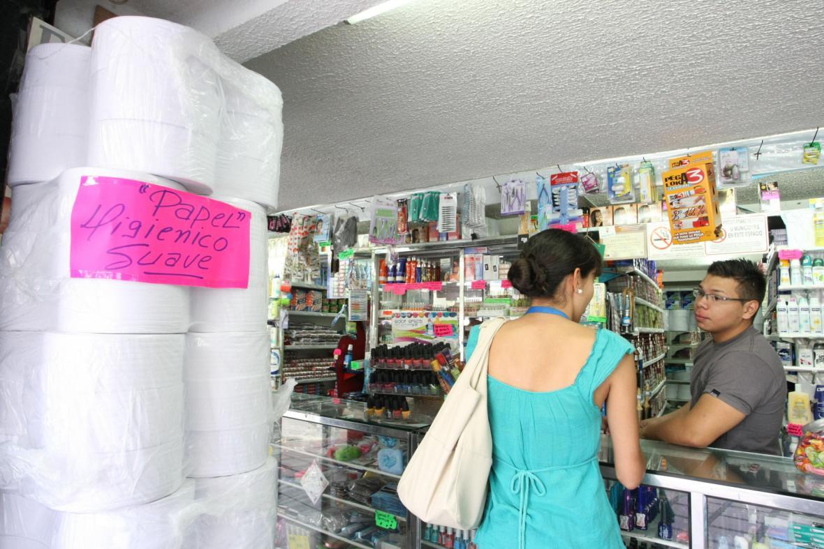 Nakupování ve Venezuele