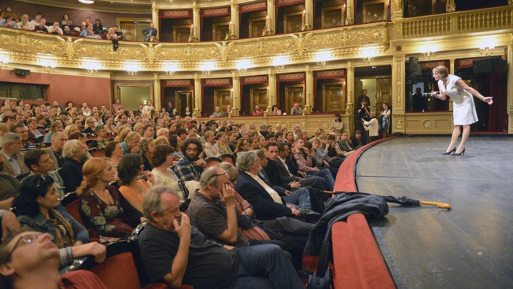 Alena Hanáková diskutovala v ND