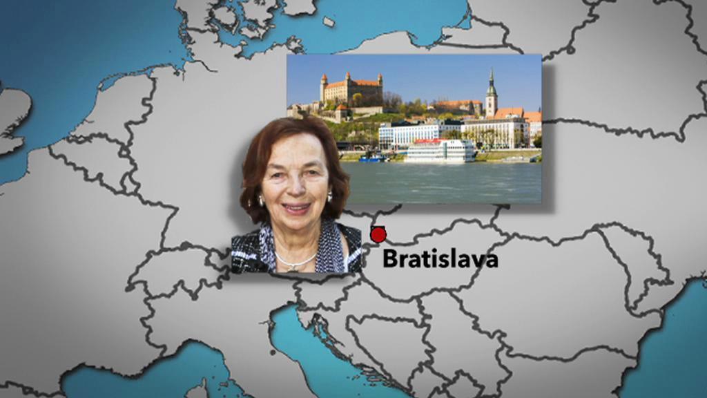 Slovenská mise Livie Klausové