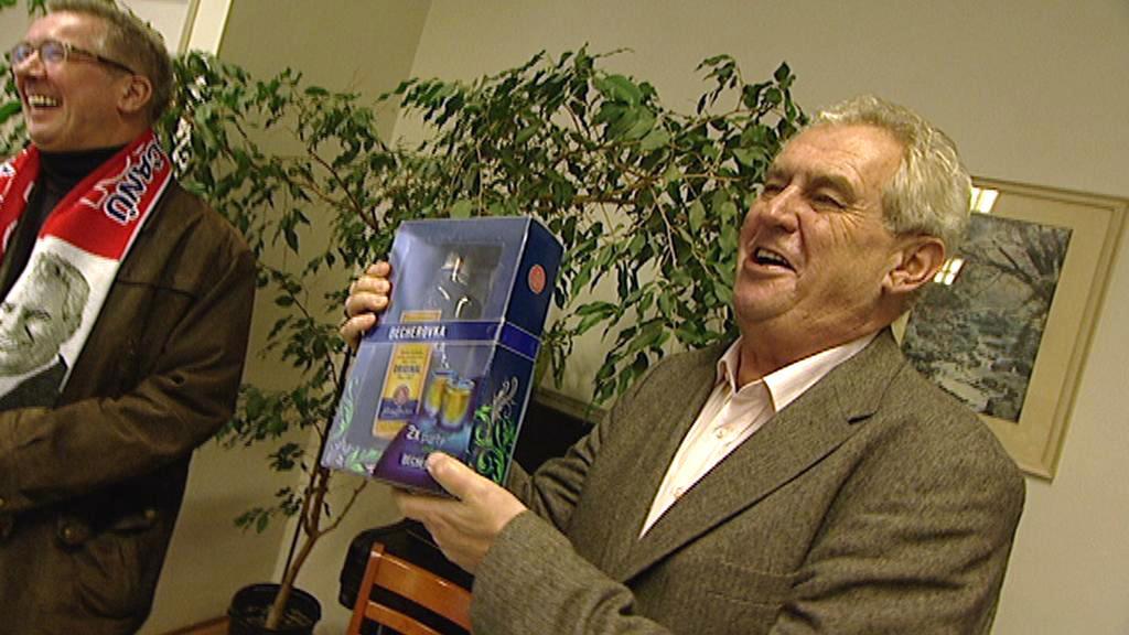 Miloš Zeman už becherovku nepije sedm let