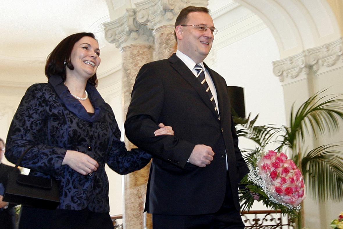 Manželé Nečasovi v roce 2011