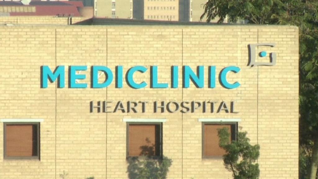 Nemocnice, kde leží Nelson Mandela
