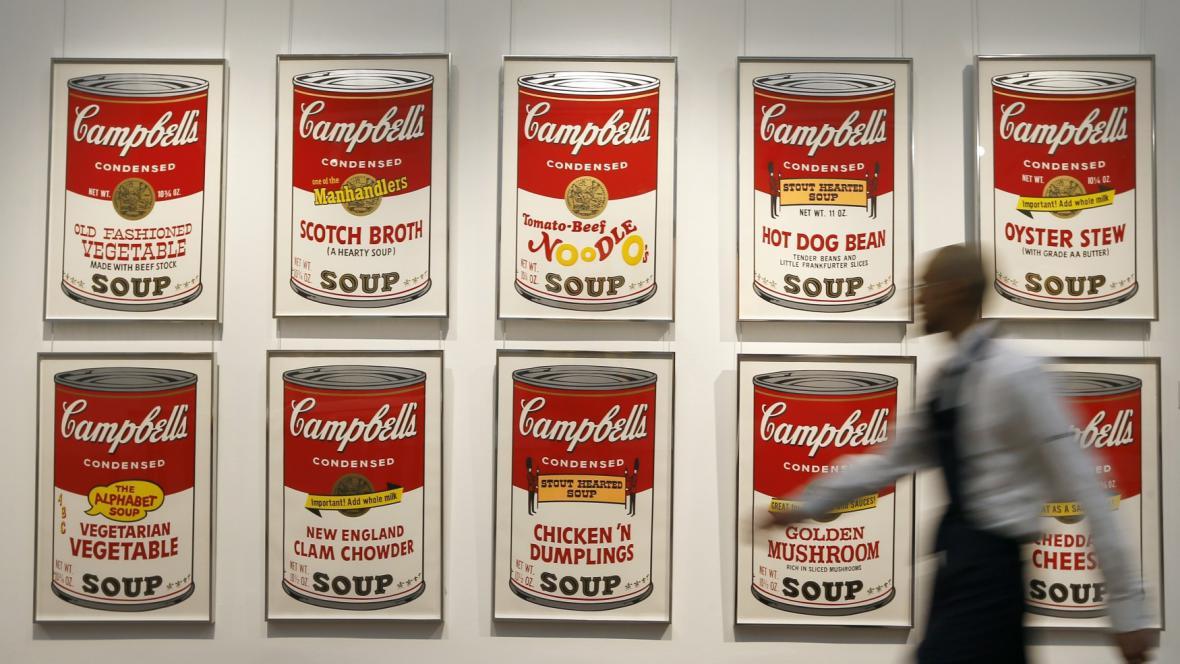Andy Warhol / Campbellova polévka