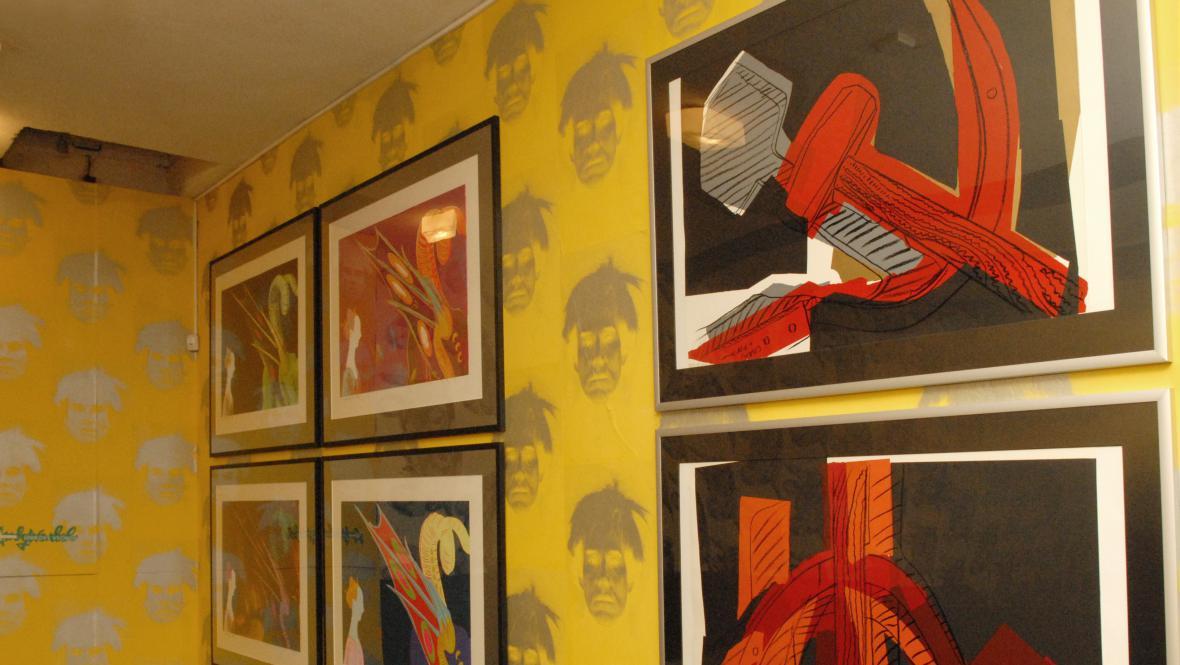 Andy Warhol / Srp a kladivo