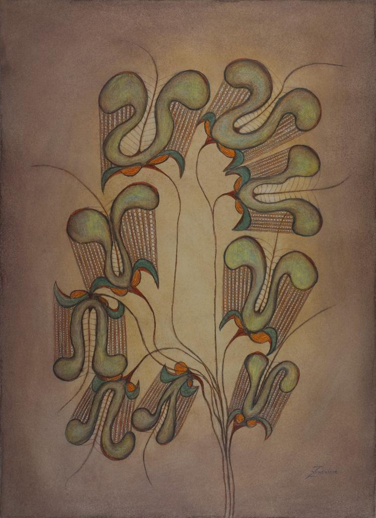 Dílo Anny Zemánkové z kolekce Galerie Cavin - Morris