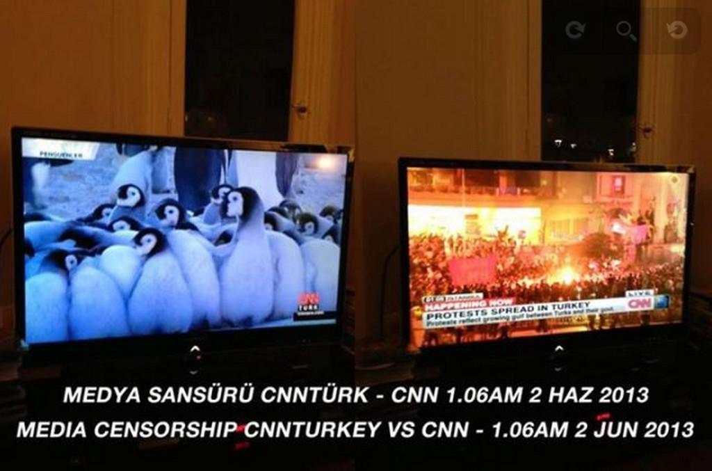 CNN Turk vs. CNN (2. 6. 2013)