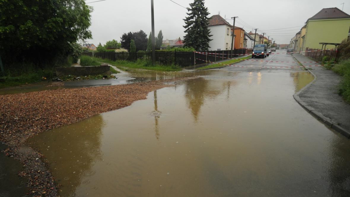 Záplava v Nýřanech