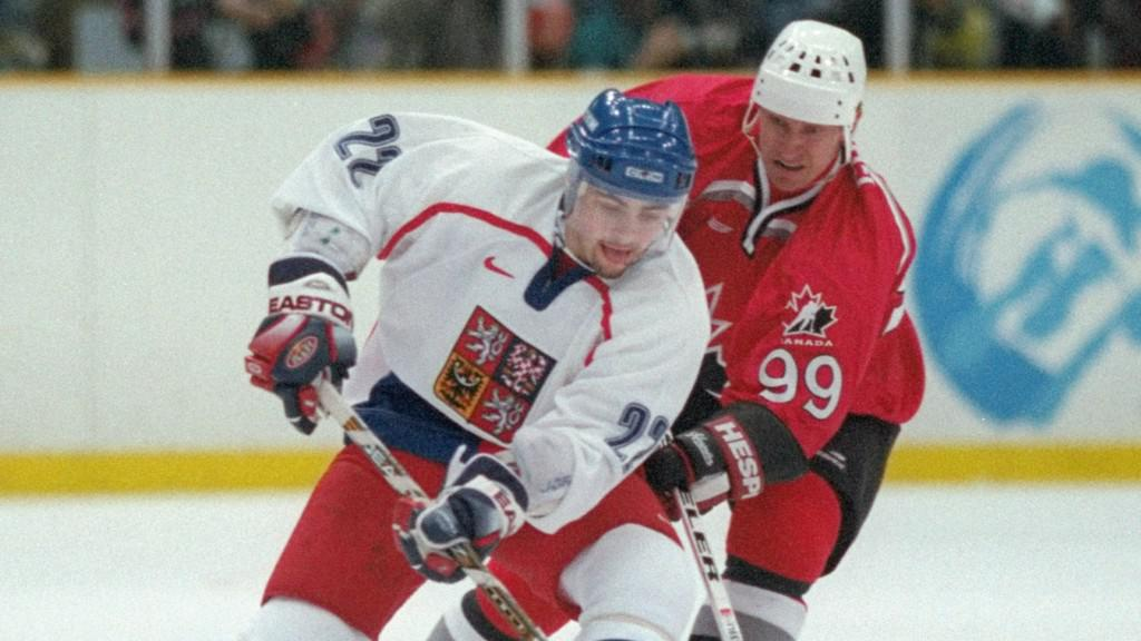 David Moravec a Wayne Gretzky