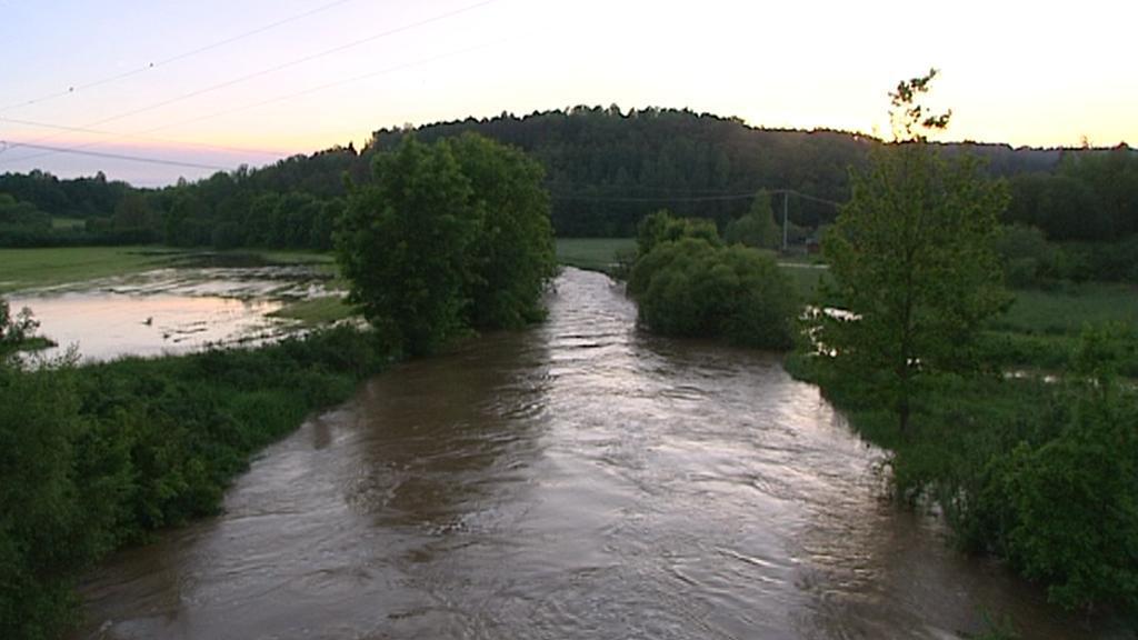Řeka Klabava na Plzeňsku